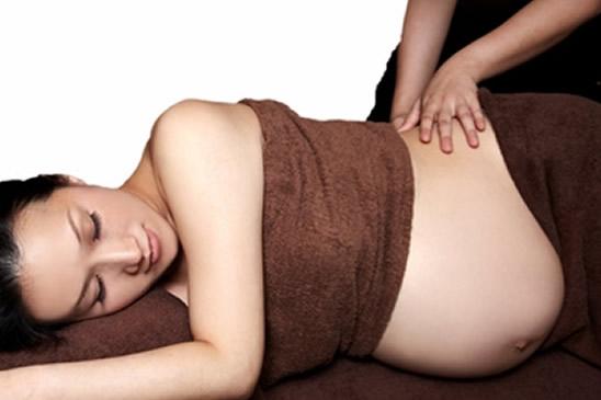 Masaje embarazadas - masaje prenatal