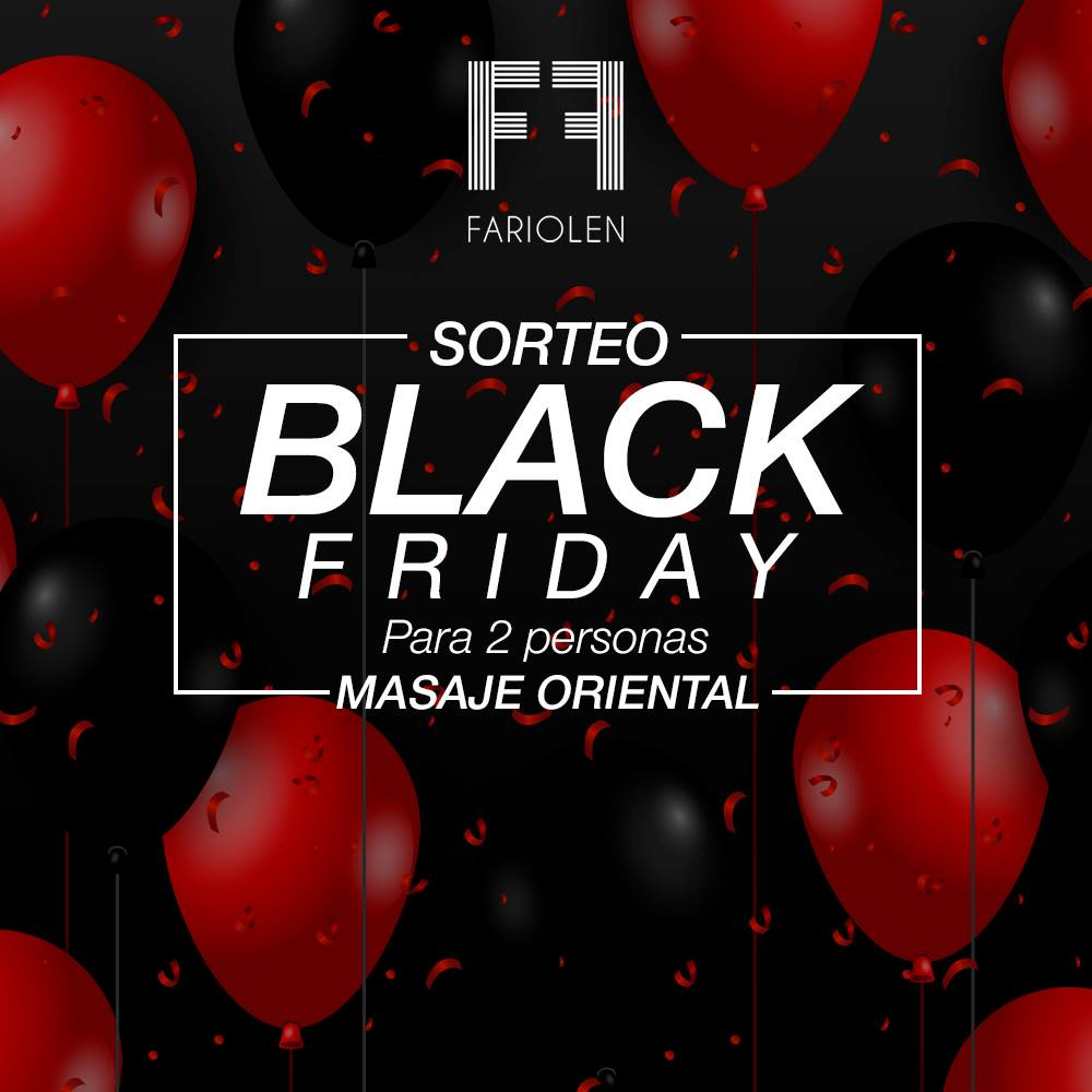 sorteo black friday fariolen